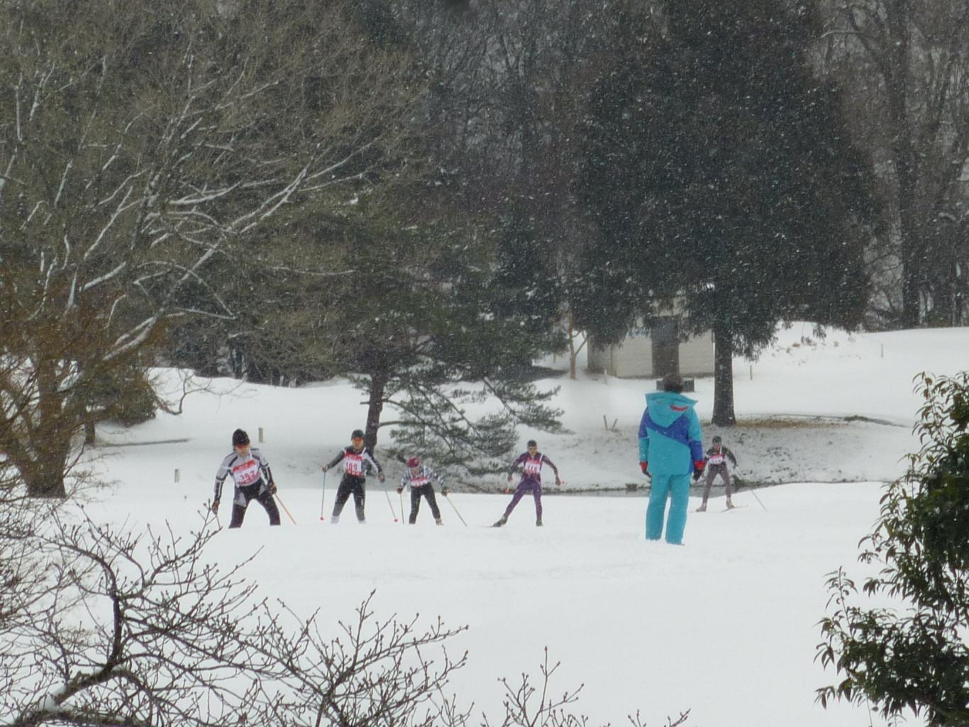 近畿高校スキー選手権・近畿中学総合体育大会開催